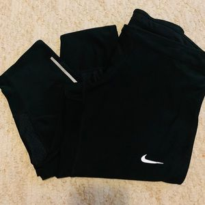 NIKE running tights crop